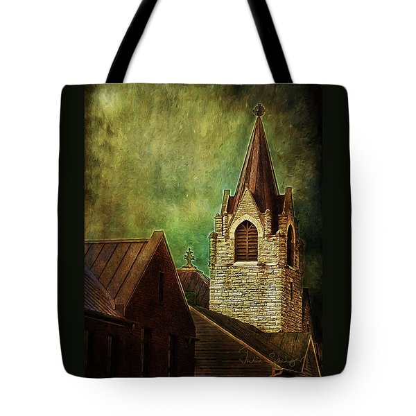St Peter's By Night Tote Bag