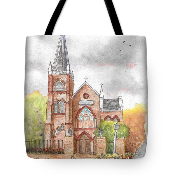 St. Peter's Catholic Church, Harpers Ferry, West Virginia Tote Bag