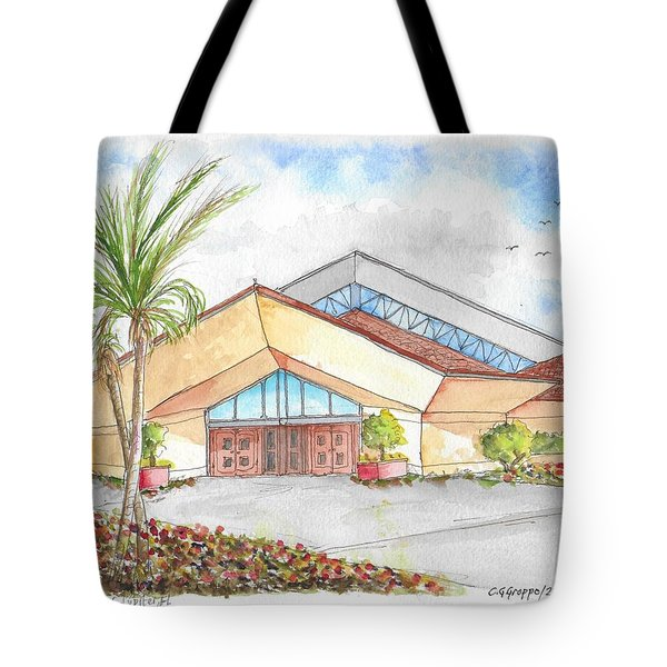 St. Peter's Catholic Church, Jupiter, Florida Tote Bag
