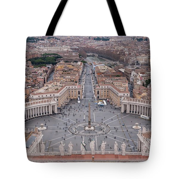St. Peter's Square Tote Bag by Sergey Simanovsky