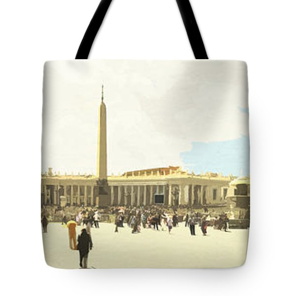 St. Peter's Square The Vatican Tote Bag