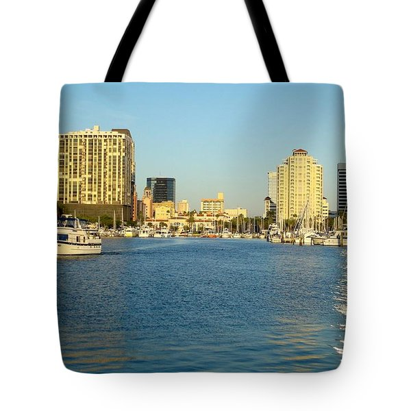 St Petersburg Florida Tote Bag