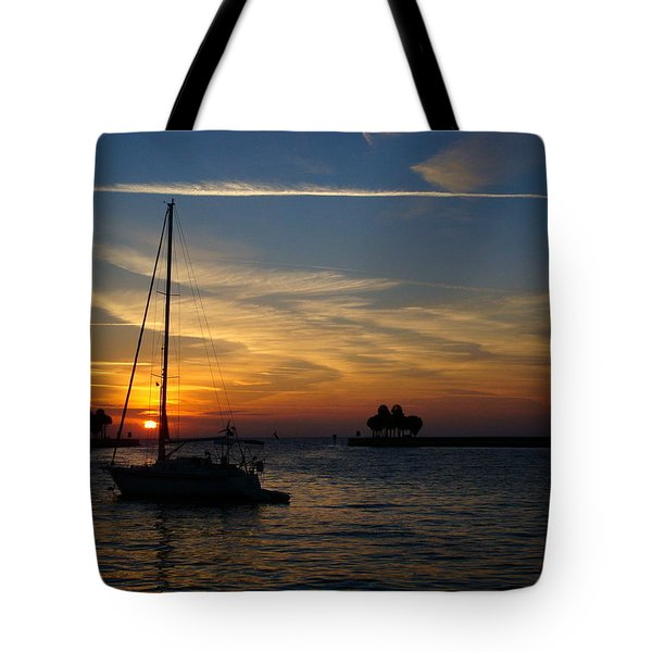 St. Petersburg Sunrise Tote Bag