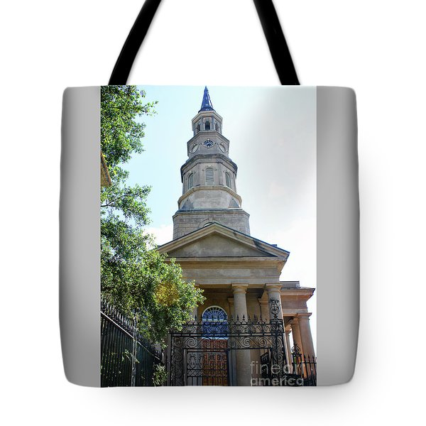 St. Phillips Episcopal Church, Charleston, South Carolina Tote Bag