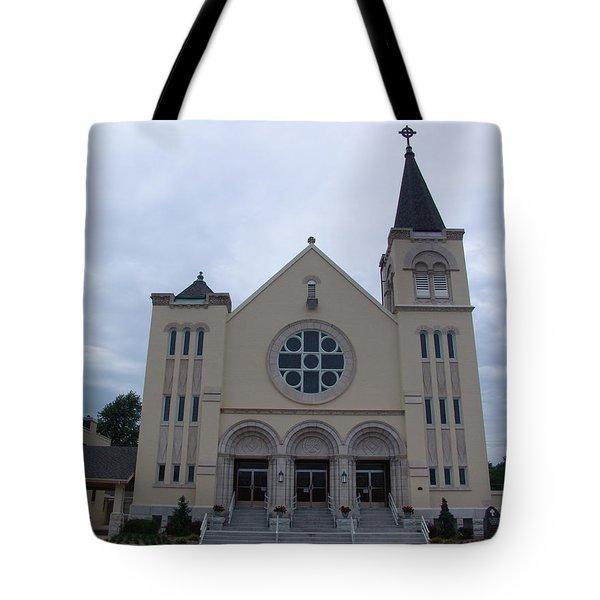 St Pius X Catholic Church Tote Bag