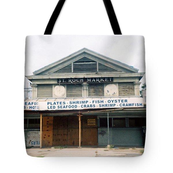 St Roch Market Tote Bag