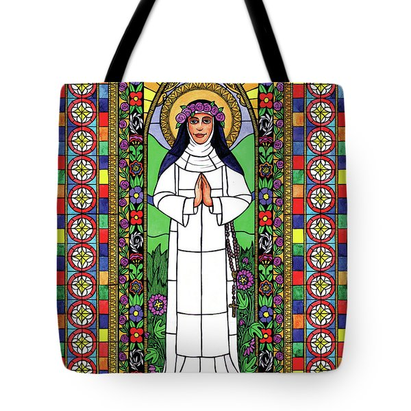 St. Rose Of Lima Tote Bag