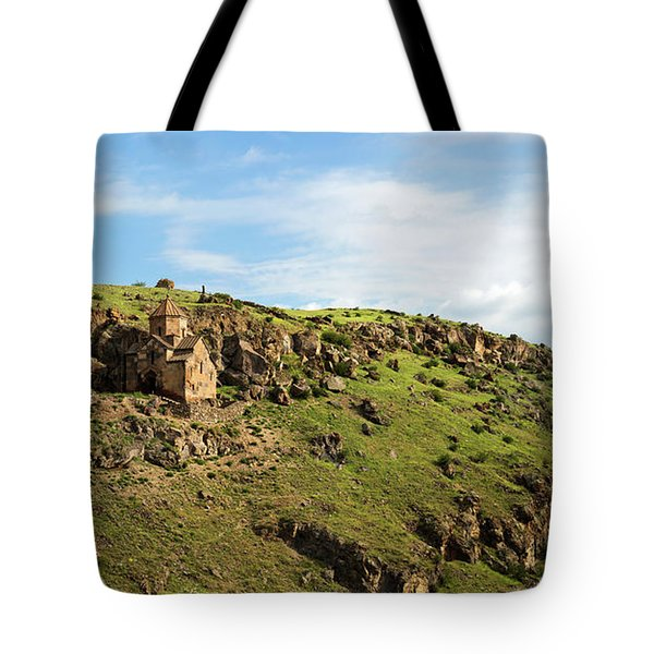 St. Stepanos Church At Sunrise, Armenia Tote Bag