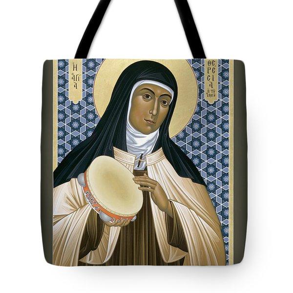 St. Teresa Of Avila - Rltoa Tote Bag