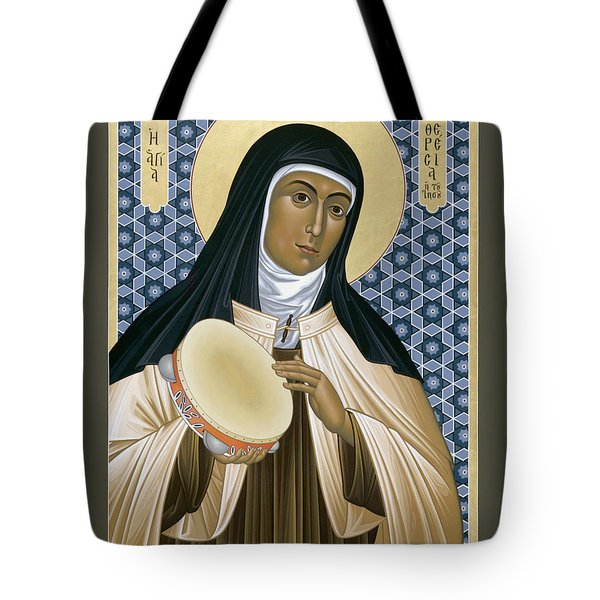 St. Teresa Of Avila - Rltoa Tote Bag