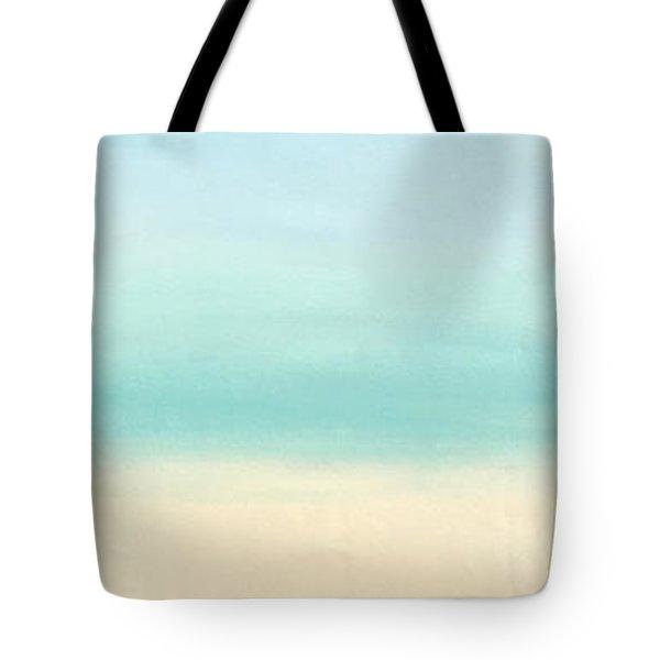 St Thomas #1 Seascape Landscape Original Fine Art Acrylic On Canvas Tote Bag