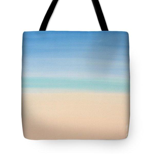 St Thomas #2 Seascape Landscape Original Fine Art Acrylic On Canvas Tote Bag
