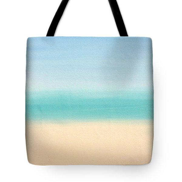 St Thomas #3 Seascape Landscape Original Fine Art Acrylic On Canvas Tote Bag