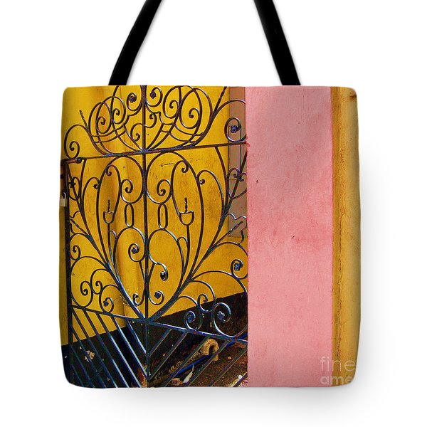 St. Thomas Gate Tote Bag by Debbi Granruth