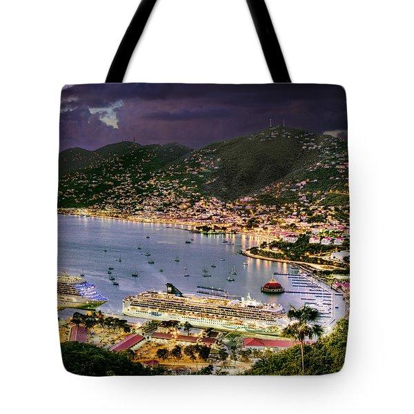 St Thomas Nights Tote Bag