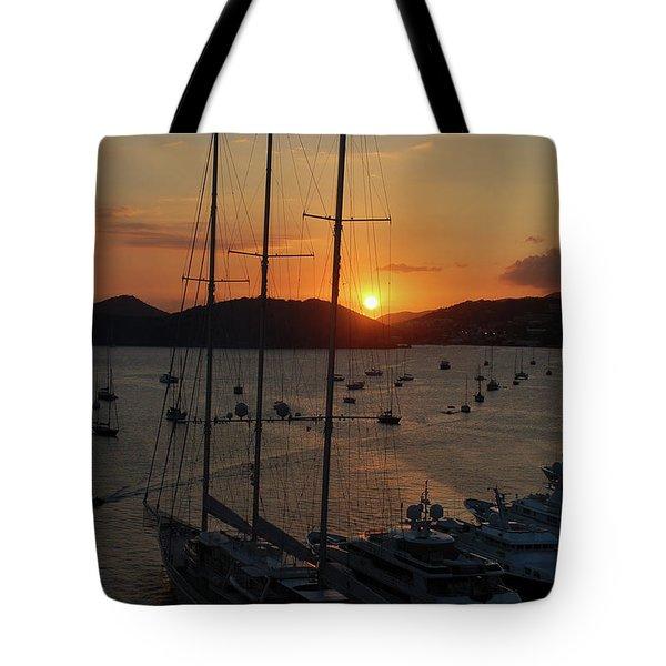 St. Thomas Sunset Tote Bag