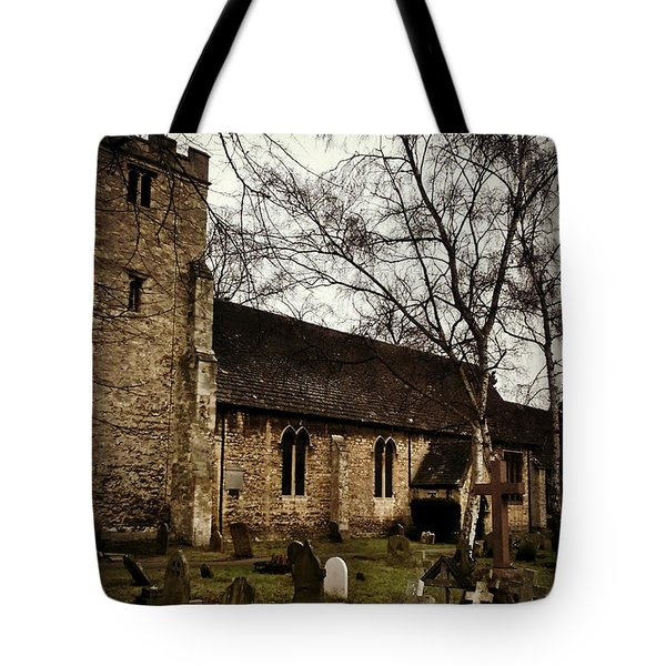 St. Thomas The Martyr Tote Bag by Persephone Artworks