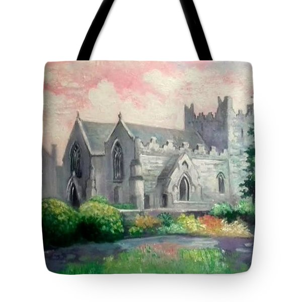 St Trinity Abbey Adare County Limerick Ireland Tote Bag