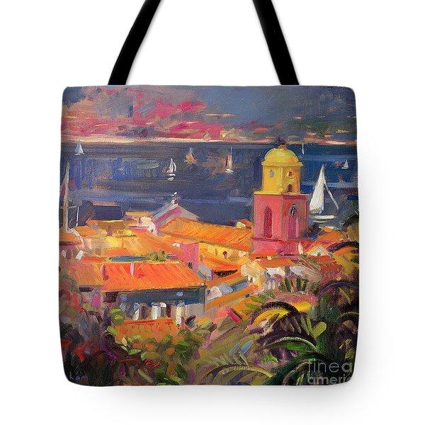 St Tropez Sailing Tote Bag