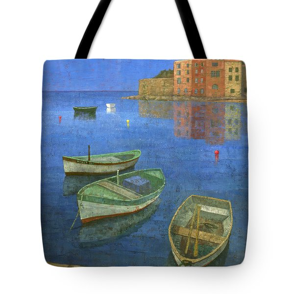 St. Tropez Tote Bag by Steve Mitchell
