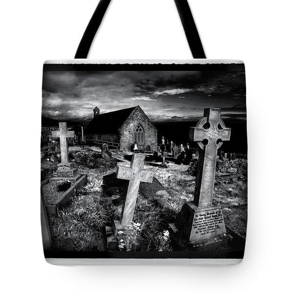 St Tudno's Church Tote Bag by Mal Bray
