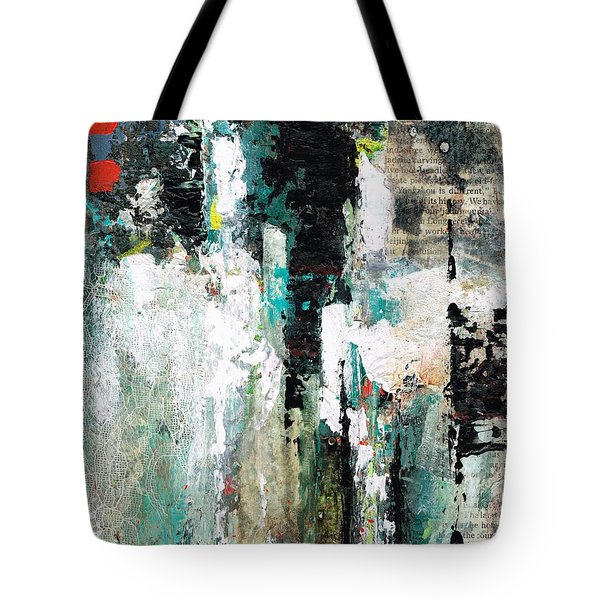 I Fooled Around And Fell In Love Tote Bag by Frances Marino