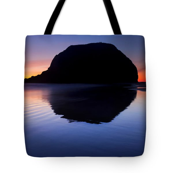 Stack Reflections Tote Bag by Mike  Dawson