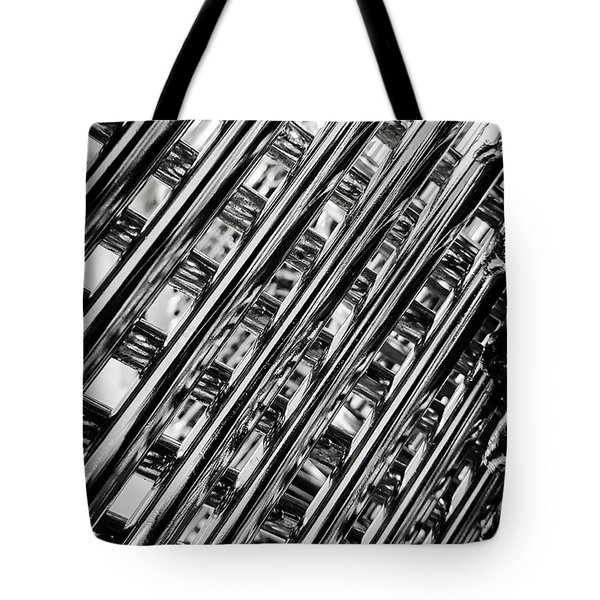 Stacked Chairs Abstract Tote Bag by Bruce Carpenter