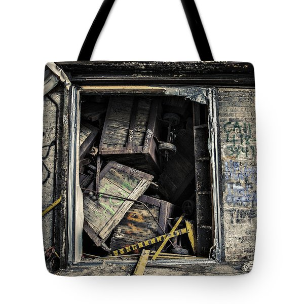 Stacked Tote Bag by CJ Schmit