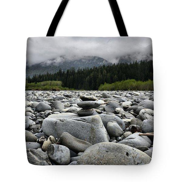 Stacked Rocks Tote Bag