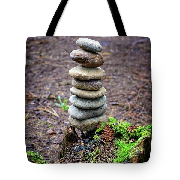 Tote Bag featuring the photograph Stacked Stones And Fairy Tales II by Marco Oliveira