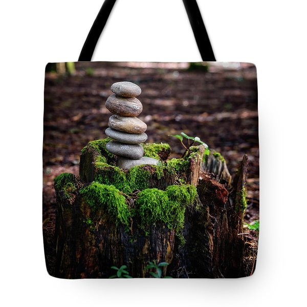 Tote Bag featuring the photograph Stacked Stones And Fairy Tales IIi by Marco Oliveira