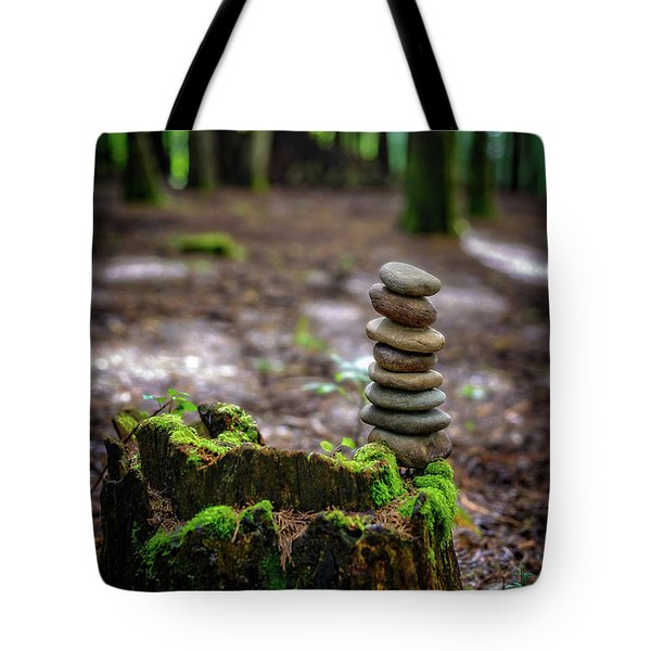 Tote Bag featuring the photograph Stacked Stones And Fairy Tales by Marco Oliveira