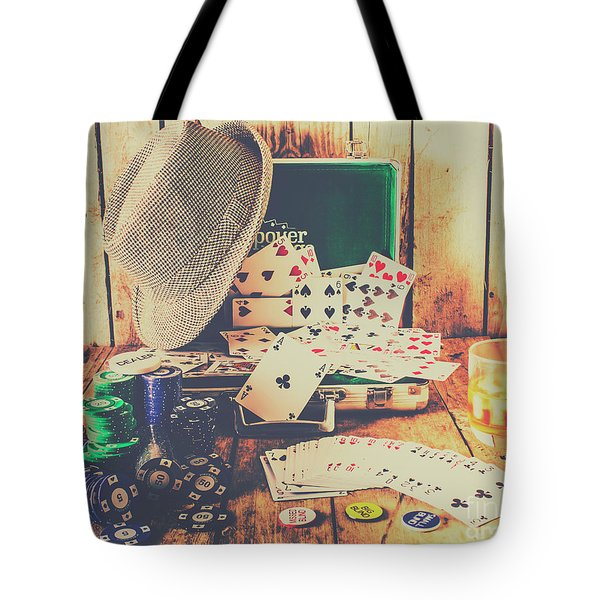 Stacking The Deck Tote Bag
