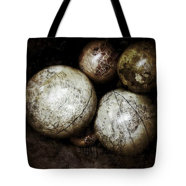 Stacking Worlds Tote Bag