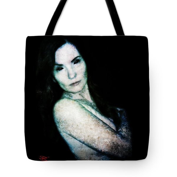 Tote Bag featuring the digital art Stacy 2 by Mark Baranowski