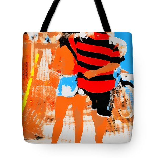 Tote Bag featuring the photograph Stadium by Beto Machado