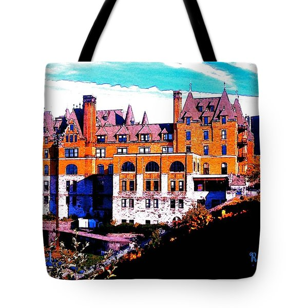 Tote Bag featuring the photograph Stadium High School - Tacoma W A by Sadie Reneau