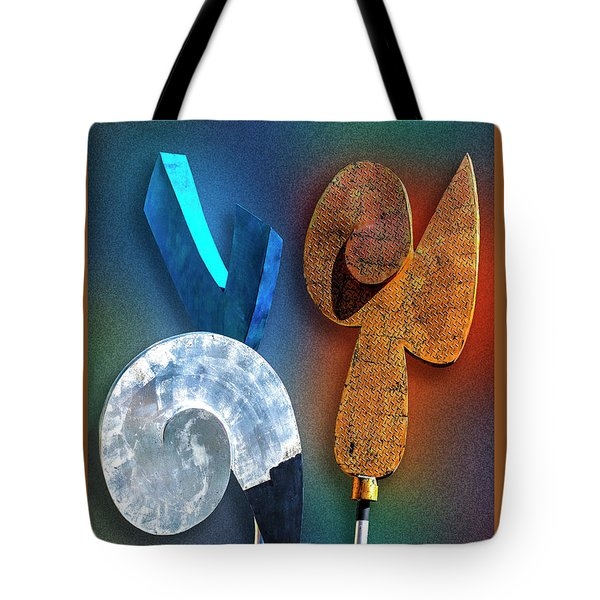 Tote Bag featuring the photograph Staff Meeting by Paul Wear