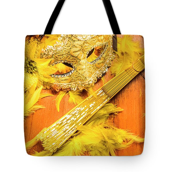 Stage And Dance Still Life Tote Bag