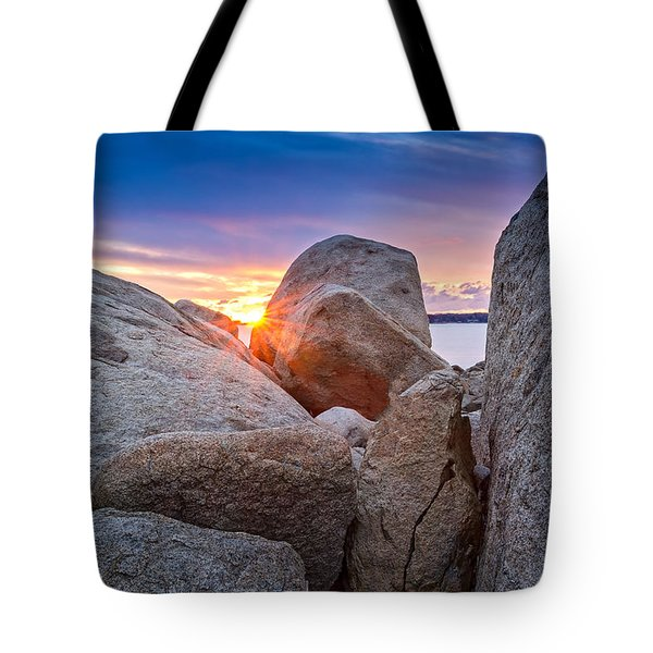 Tote Bag featuring the photograph Stage Fort Park Gloucester by Michael Hubley
