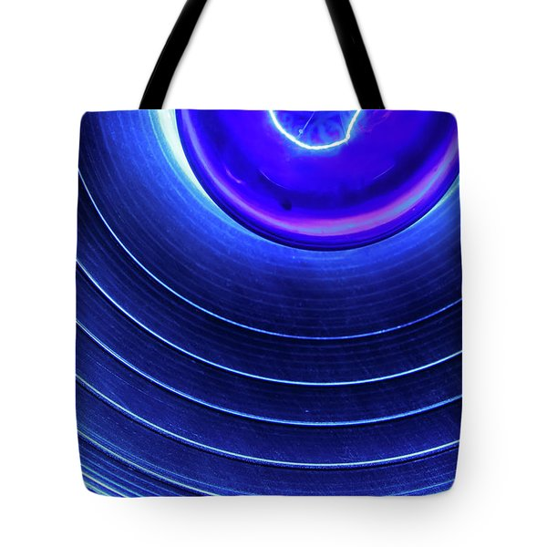 Tote Bag featuring the photograph Stage Light by KG Thienemann