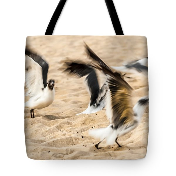 Stages Of Flight Tote Bag