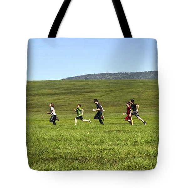 Tote Bag featuring the photograph Stages Of Flow by Peter Thoeny