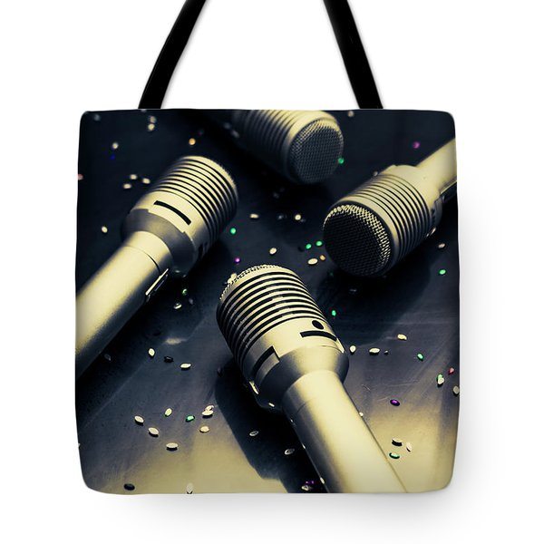 Staging A Disco Tote Bag