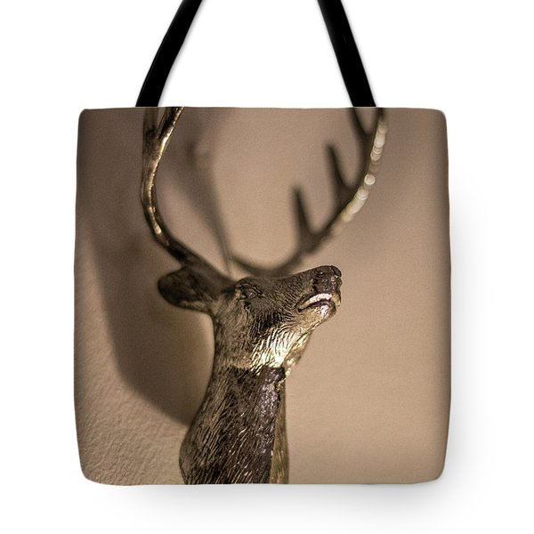 Stags Head Tote Bag