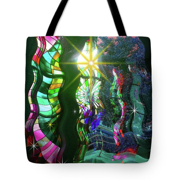 Stained Glass #4719_2 Tote Bag