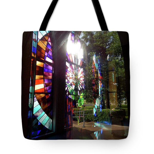 Stained Glass #4720 Tote Bag