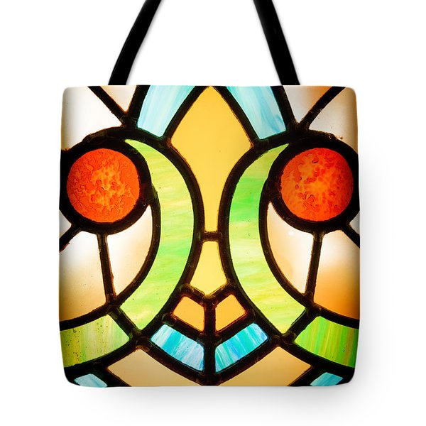Stained Glass Detail Tote Bag