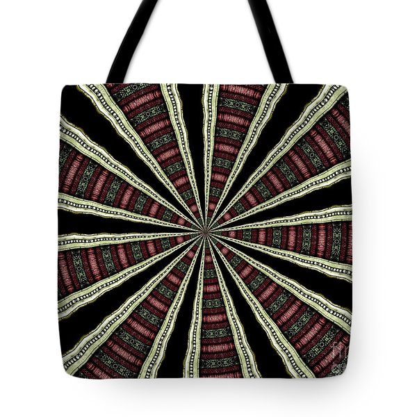 Tote Bag featuring the photograph Stained Glass Kaleidoscope 14 by Rose Santuci-Sofranko